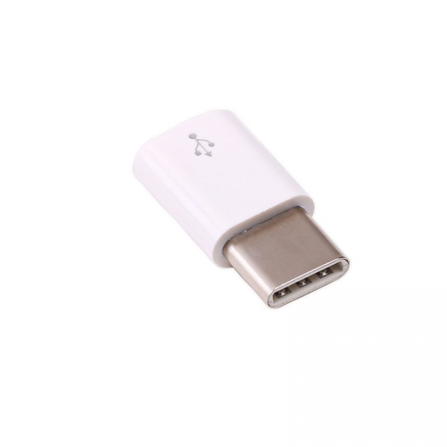 Official Raspberry Pi USB-C Adapter White