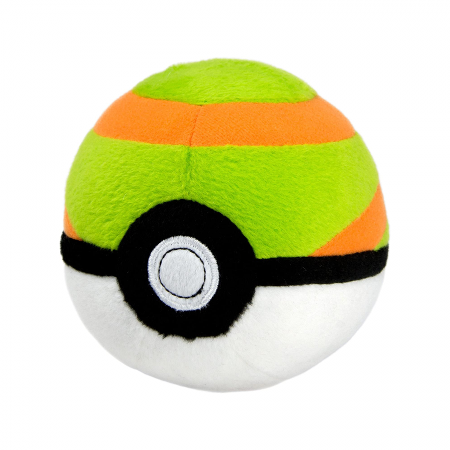Pokemon Nest Poke Ball Plush