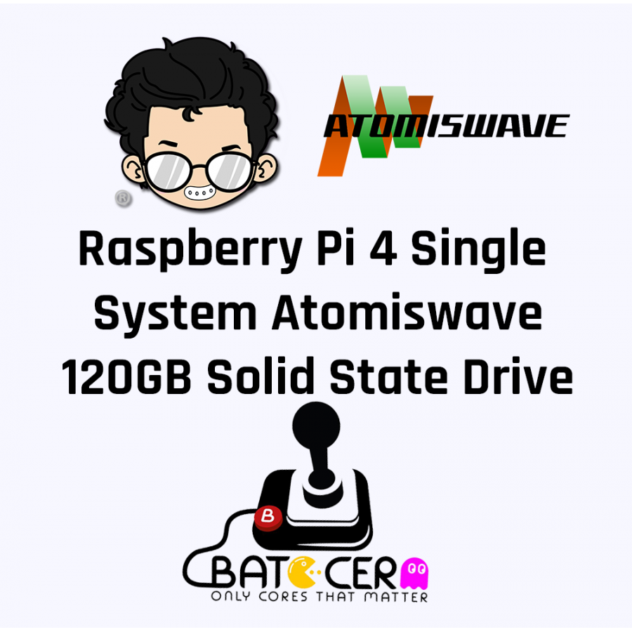 Raspberry Pi Model 4B Single System Atomiswave