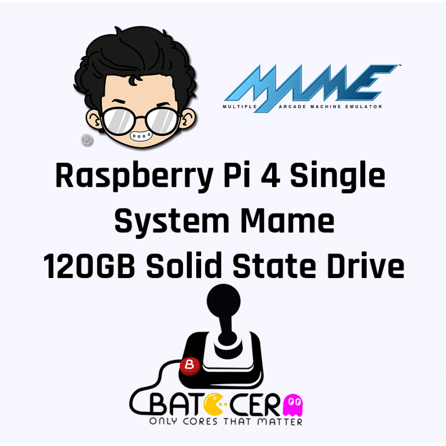 Raspberry Pi Model 4B Single System MAME