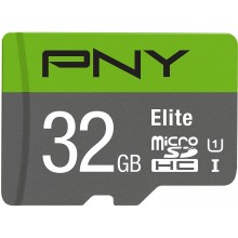 PNY Elite 32GB Micro SDXC Card with SD Adapter